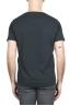 SBU 01636 T-shirt girocollo aperto in cotone fiammato antracite 05