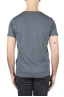SBU 01641 Flamed cotton scoop neck t-shirt dark grey 05