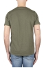 SBU 01645 Flamed cotton scoop neck t-shirt green 05