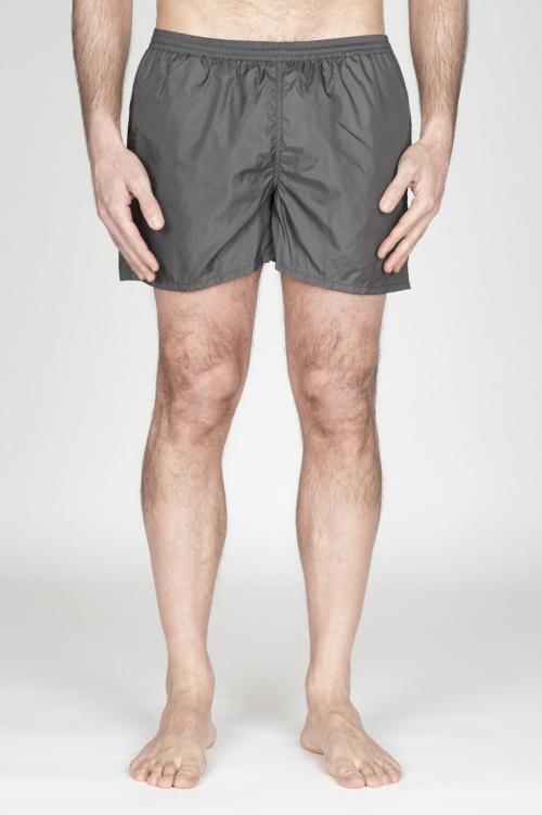 SBU - Strategic Business Unit - Swimsuit Classic Trunks In Grey Ultra Lightweight Nylon
