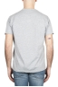 SBU 01652 Round neck patch pocket cotton t-shirt mélange grey 05