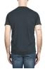 SBU 01653 Camiseta de algodón antracita de cuello redondo y bolsillo de parche 05