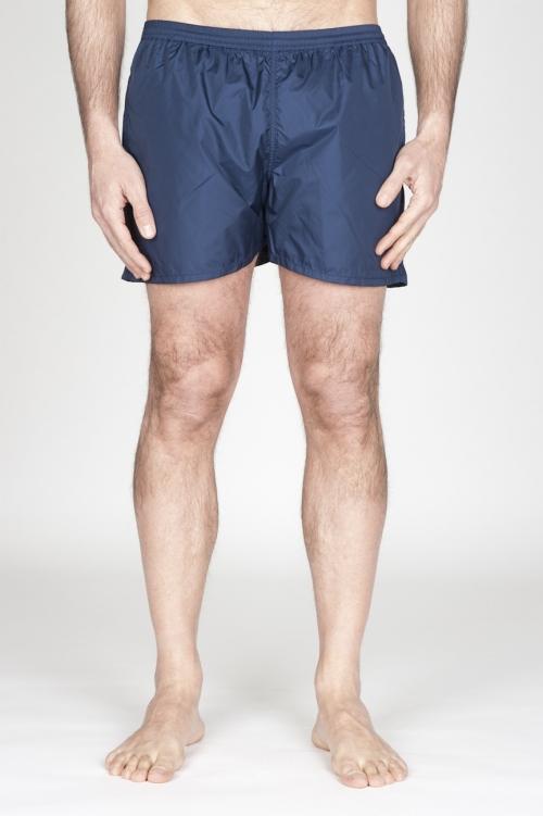 SBU - Strategic Business Unit - Swimsuit Classic Trunks In Blue Ultra Lightweight Nylon