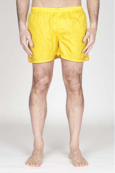 SBU - Strategic Business Unit - Costume Pantaloncino Classico In Nylon Ultra Leggero Giallo