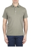 SBU 01697 Classic short sleeve green cotton jersey polo shirt 01