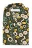 SBU 01717 Camisa hawaiana estampada de algodón verde 06