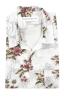 SBU 01718 Camisa hawaiana estampada de algodón blanca 06