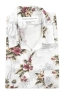 SBU 01718 Hawaiian printed pattern white cotton shirt 06