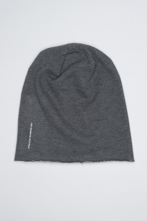 SBU - Strategic Business Unit - Classic Sharp Cut Grey Jersey Bonnet