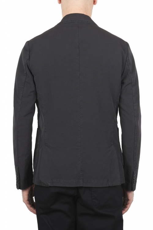 SBU 01730 Dark grey cotton sport jacket unconstructed and unlined 01