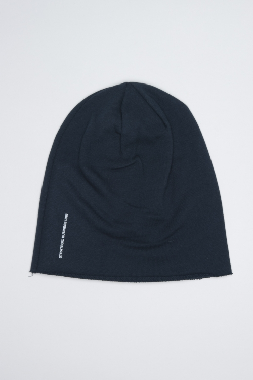 Classic Sharp Cut Blue Jersey Bonnet