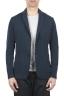 SBU 01734 紺色の綿のスポーツジャケット 01
