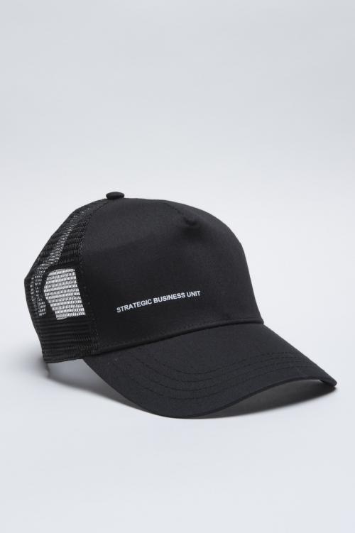 SBU - Strategic Business Unit - Classic Cotton Trucker Cap Black
