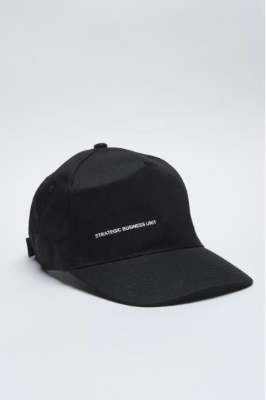 SBU - Strategic Business Unit - Baseball Cap Classico Di Cotone Nero