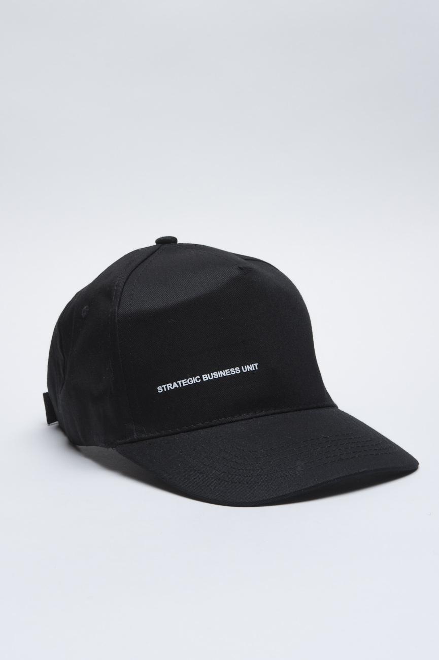 SBU - Strategic Business Unit - 古典的な綿の野球帽黒に