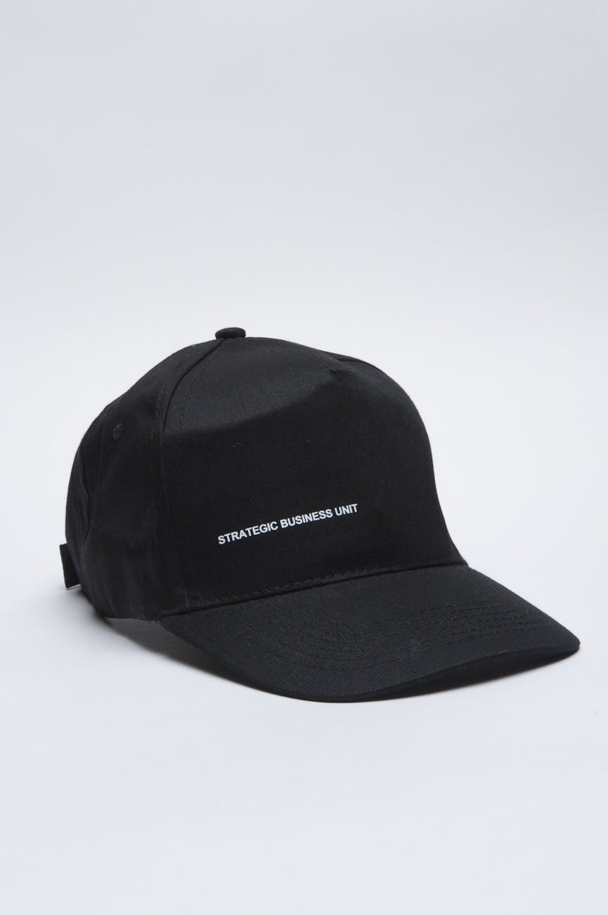 SBU - Strategic Business Unit - Classic Cotton Baseball Cap Black