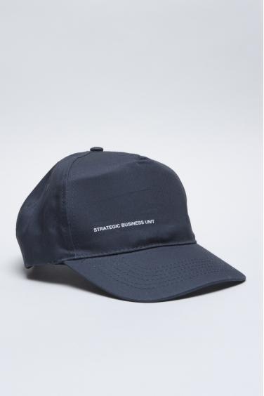SBU - Strategic Business Unit - Baseball Cap Classico Di Cotone Blue