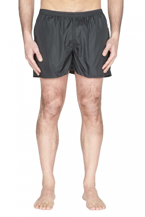 SBU 01753 Tactical swimsuit trunks in black ultra-lightweight nylon 01