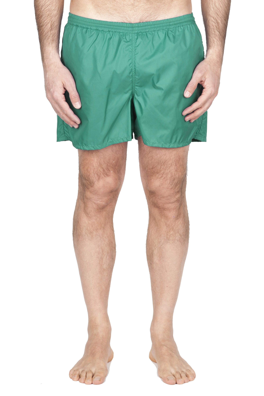 SBU 01756 Costume pantaloncino classico in nylon ultra leggero verde chiaro 01