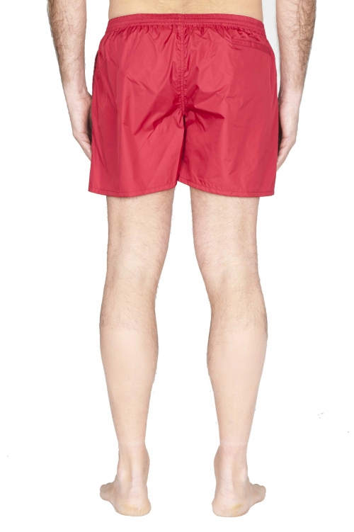 SBU 01760 Tactical swimsuit trunks in red ultra-lightweight nylon 01