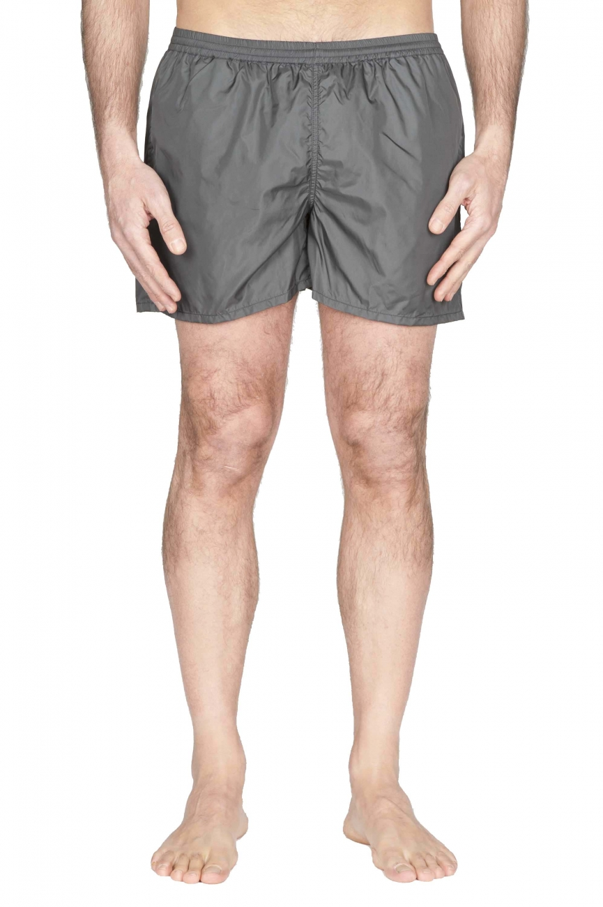 SBU 01761 Tactical swimsuit trunks in grey ultra-lightweight nylon 01