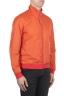 SBU 01687 Giubbino antivento in nylon arancione ultra leggero 02