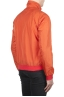 SBU 01687 Windbreaker bomber jacket in orange ultra-lightweight nylon 03