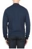 SBU 01763 Sudadera bomber jersey de algodón azul 04