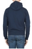 SBU 01765 Blue cotton jersey hooded sweatshirt 04
