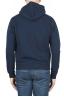 SBU 01765 Sweat à capuche en jersey de coton bleu 04