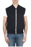 SBU 01767 Blue cotton jersey sweatshirt vest 01