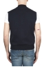 SBU 01767 Blue cotton jersey sweatshirt vest 04