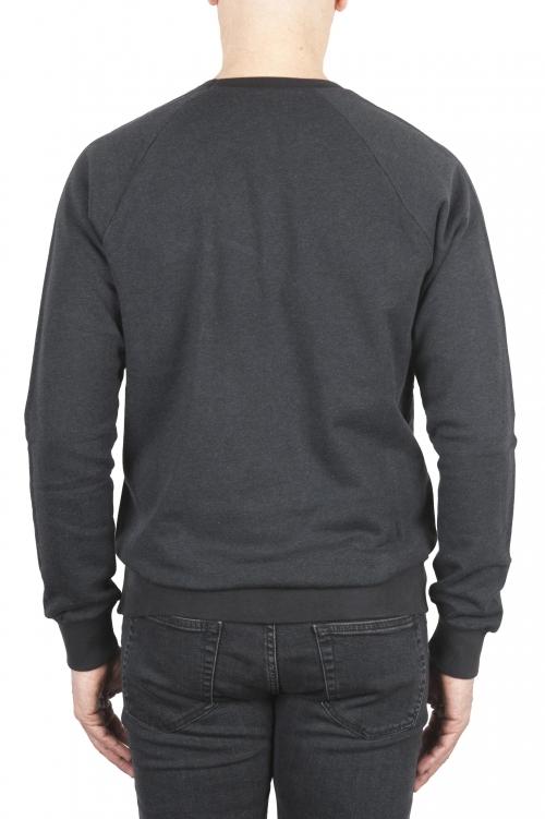 SBU 01771 Crewneck grey cotton sweatshirt 01