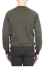 SBU 01773 Crewneck green cotton sweatshirt 04