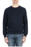 SBU 01774 Crewneck navy blue cotton sweatshirt 01