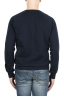 SBU 01774 Crewneck navy blue cotton sweatshirt 04