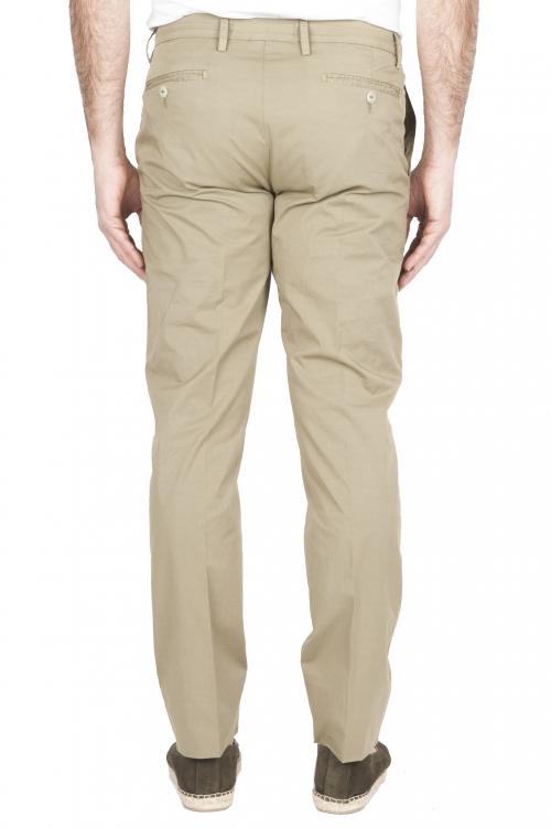 SBU 01778 Pantalon chino ultra-léger en coton stretch vert 01
