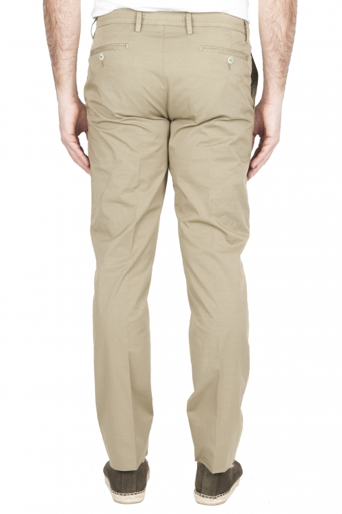 SBU 01778 Ultra-light chino pants in green stretch cotton 01