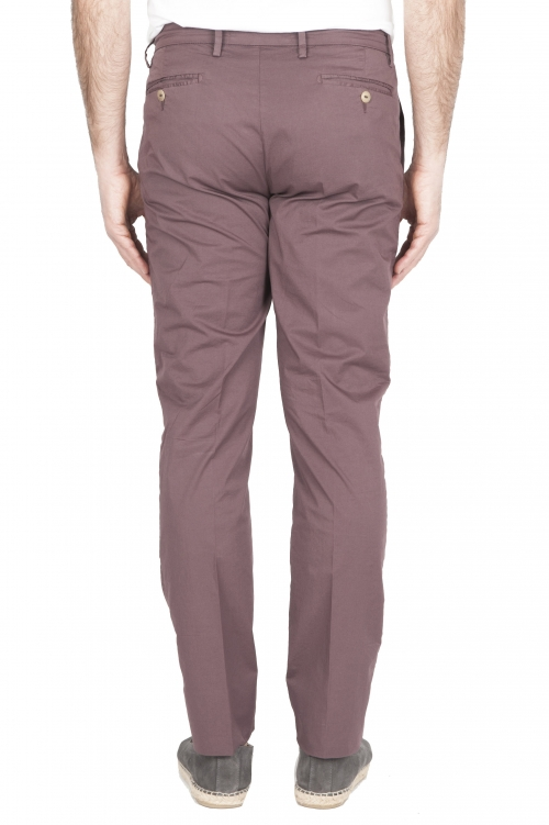 SBU 01779 Ultra-light chino pants in bordeaux stretch cotton 01