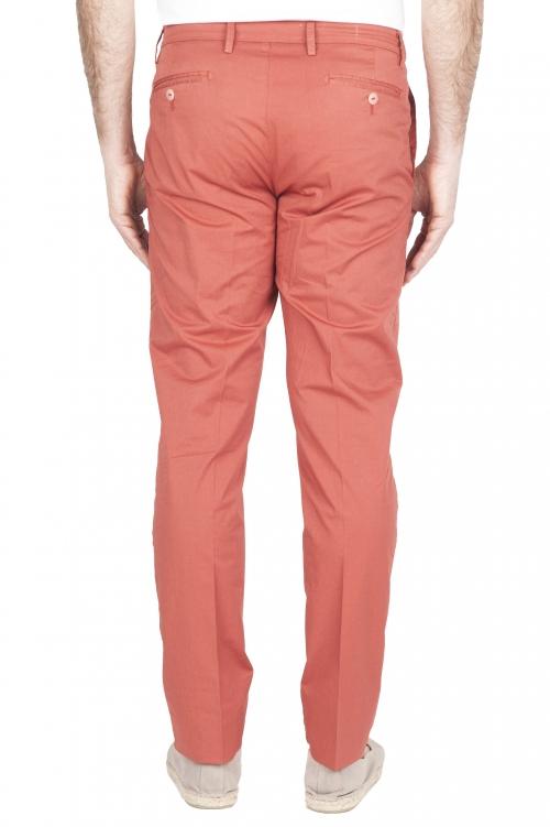 SBU 01781 Ultra-light chino pants in red stretch cotton 01