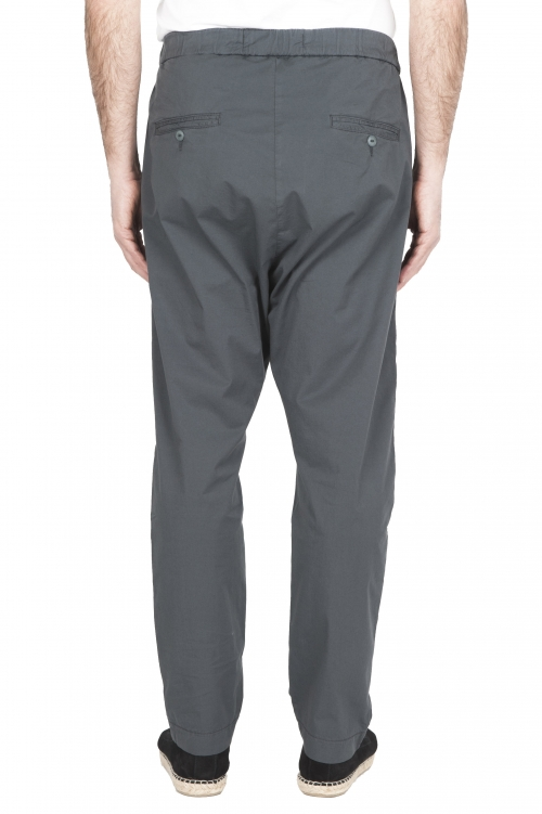 SBU 01782 Pantalón jolly ultraligero en algodón elástico gris 01
