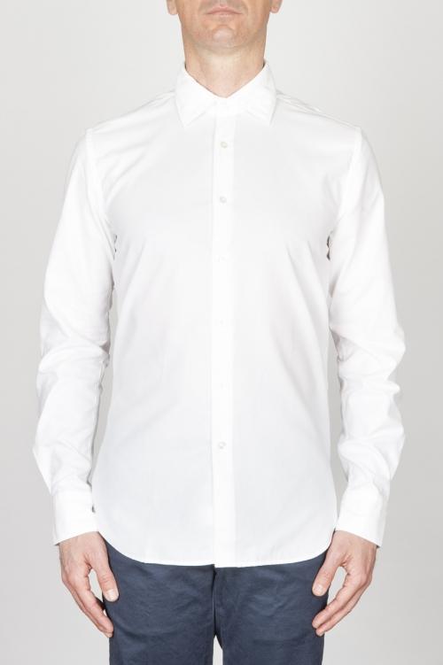 SBU - Strategic Business Unit - Classic Point Collar White Oxford Super Cotton Shirt