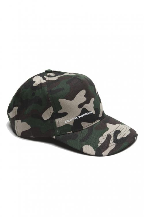 SBU 01809 クラシックコットン野球帽カモフラージュグリーン 01