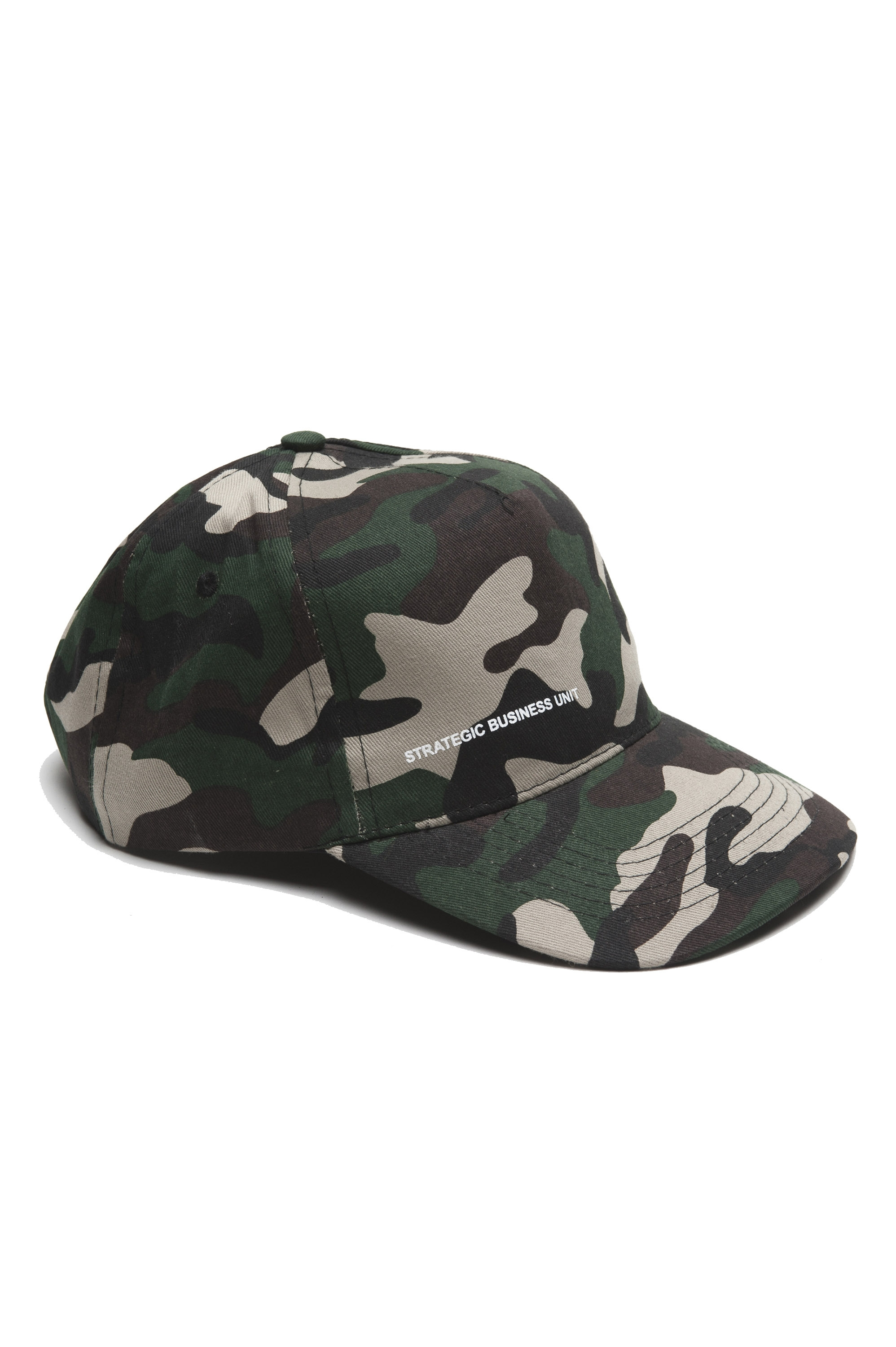 SBU 01809 Classic cotton baseball cap camouflage green 01