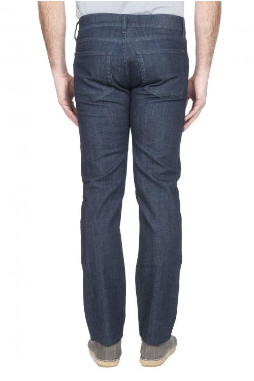 Stretch Denim blue jeans