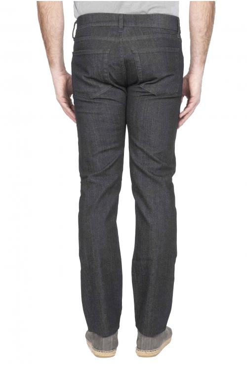 SBU 01124 Blue jeans in denim di cotone 01