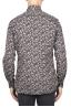 SBU 01821_19AW Camisa de algodón estampado floral gris 05