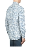 SBU 01822_19AW Floral patterned white corduroy shirt 04