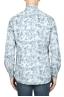 SBU 01822_19AW Camicia in velluto stampata fantasia in cotone bianca 05