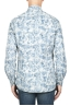 SBU 01822_19AW Floral patterned white corduroy shirt 05